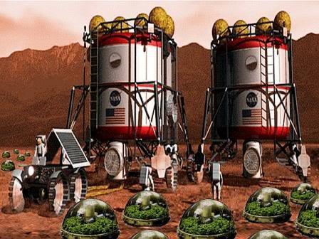Космос, пилотируемый полет на планету Марс и т.д. Mars3