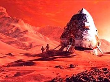 Космос, пилотируемый полет на планету Марс и т.д. Mars6