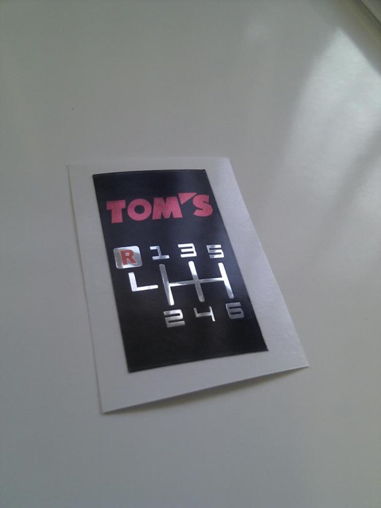 New 6 speed Sticker thanks to Josheyboy, and i need ideas tooo 332850_10150458629329546_790529545_11233479_1503471814_o
