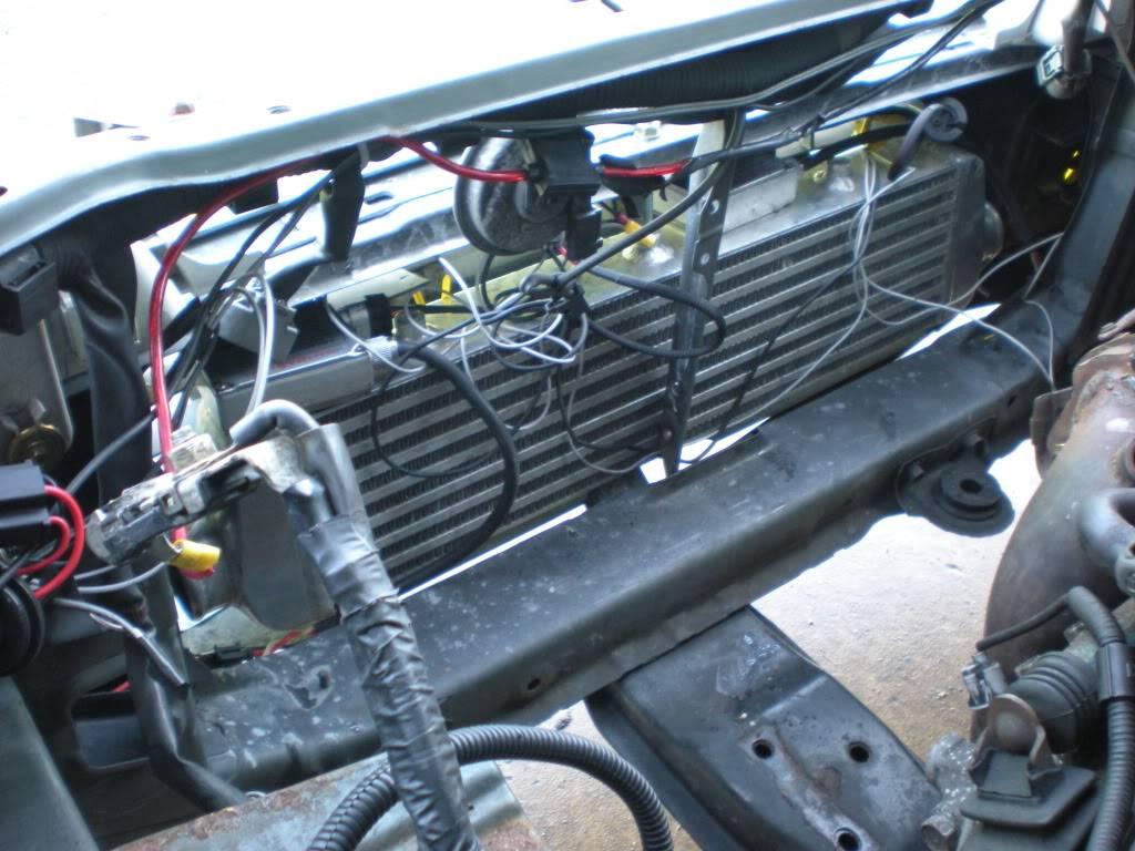 Intercooler kit with short hotside pipe DSCN4632