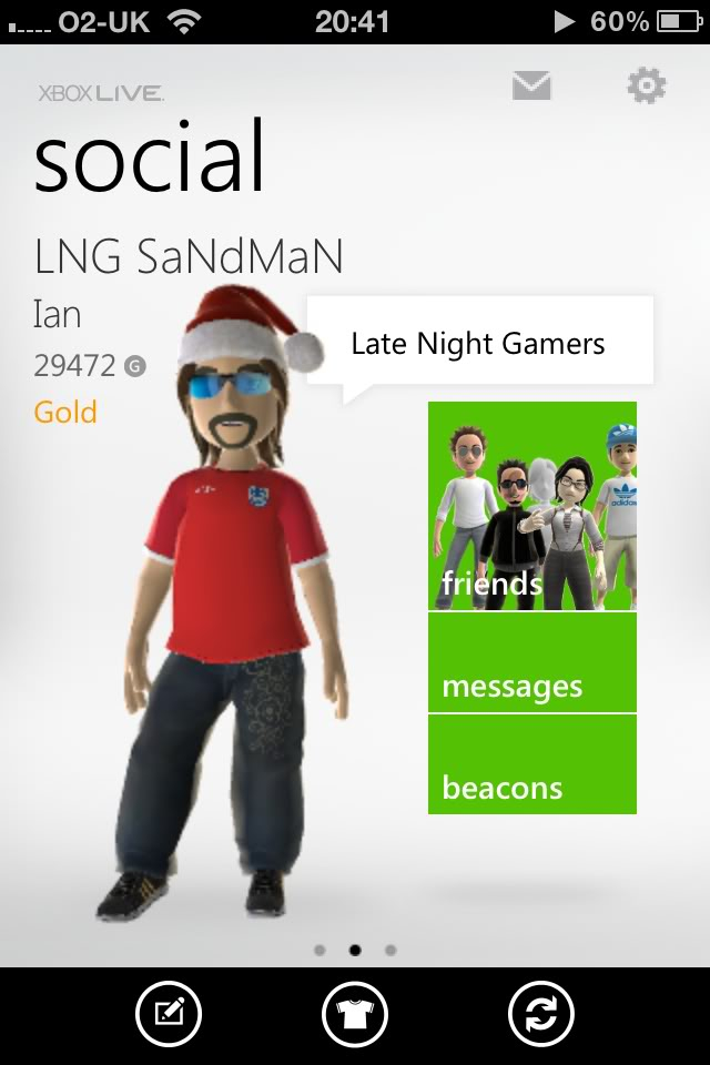 New Xbox Live iPhone app 0dc3306a