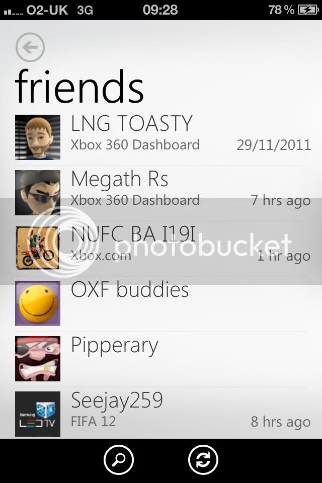 New Xbox Live iPhone app 8d0337c2