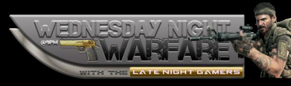 Wednesday Night Warfare: Wed 22 Feb (from 2100) WedsNightWarfare600w