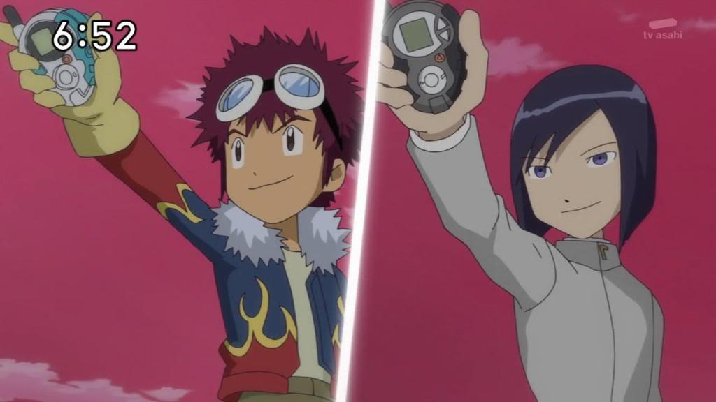 Que controvérsias o final de Digimon Hunters criou para as temporadas anteriores? Daisukebby6