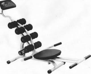 Alat Olahraga Spin Black Power Pelangsing,Pembentuk Tubuh & Otot Olahragaspinblackpower