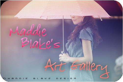 •} Maddie Blake's® Art Gallery CaratulaMaddieBlakeAG