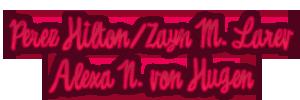 Datos de Afiliación PerezZaynAlexa