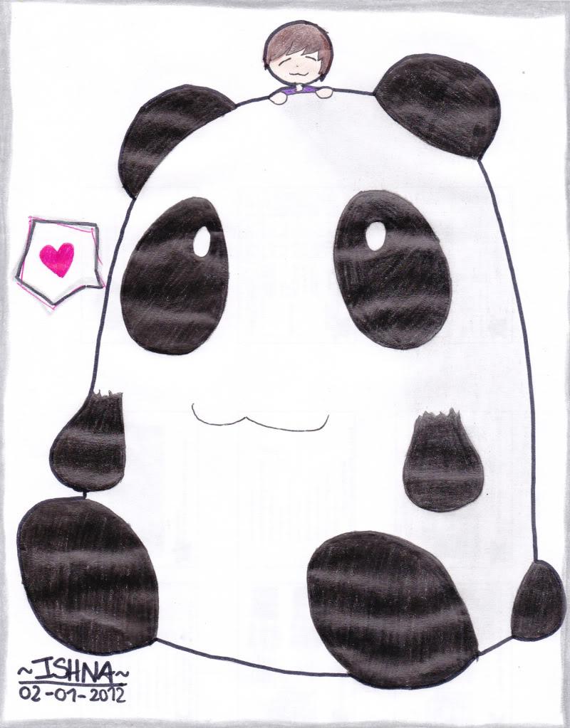 Dibujos~Ishna Panda
