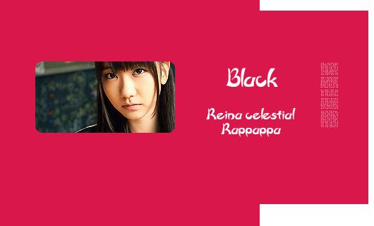 Personajes Cannon Japoneses Black
