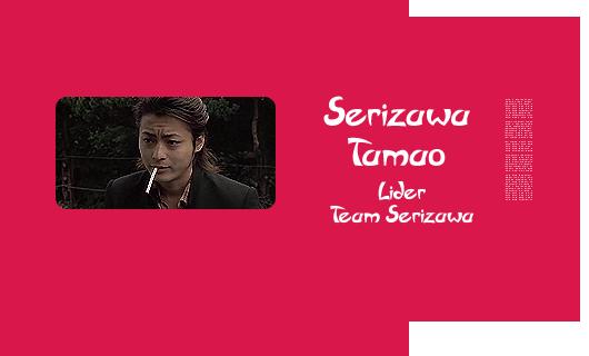 Personajes Cannon Japoneses Serizawa