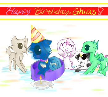Idk what this is 8D Ghiasbirthday2
