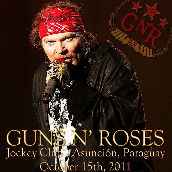 Guns N' Roses @ Jockey Club - Asunción, Paraguay (October 15th, 2011) FRONT-54_zps8300a245