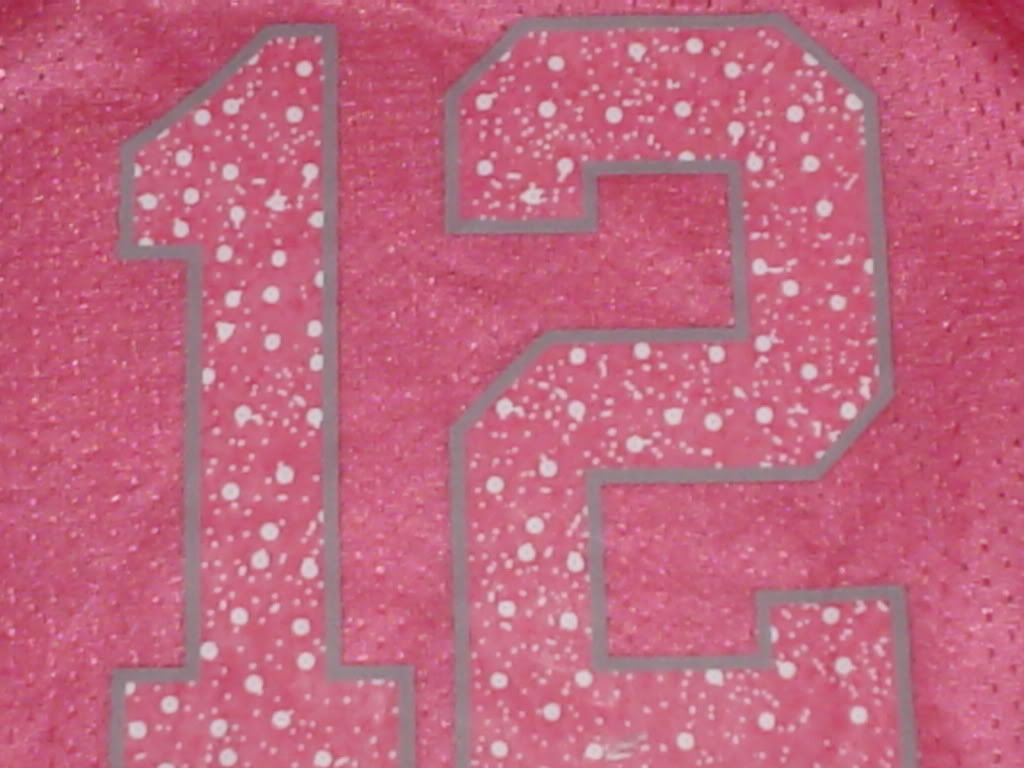 Is this Aaron Rodgers Pink Replica Jersey Fake? DSC00317