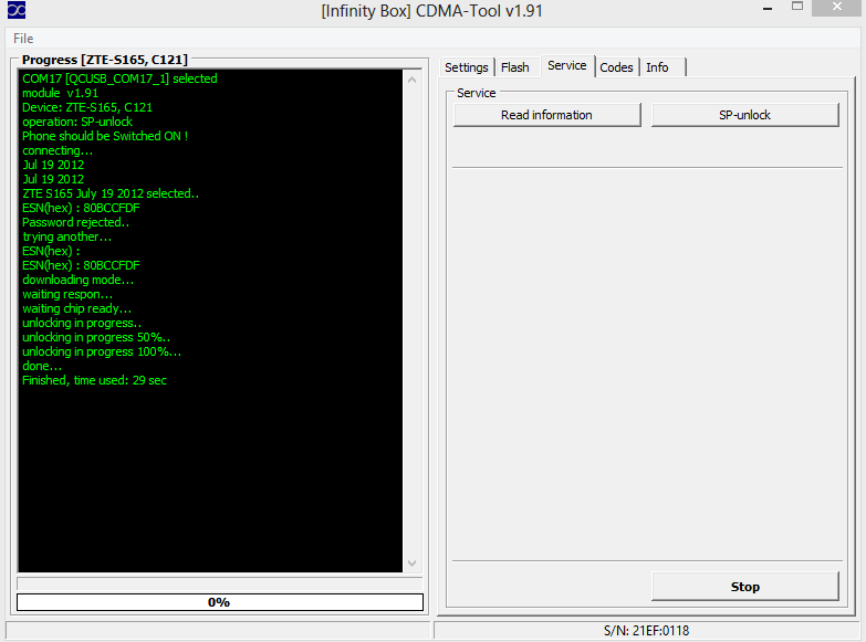 Logs of successfully unlocked/repaired phones by Infinity-Box CDMA-Tool  UnnamedQQScreenshot20121122101520