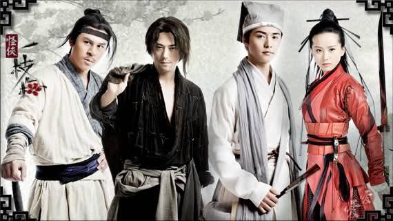 И Чжи Мэй: герои в масках / Strange Hero Yi Zhi Mei (Китай, 2011, 30 серий) Strange-Hero-1