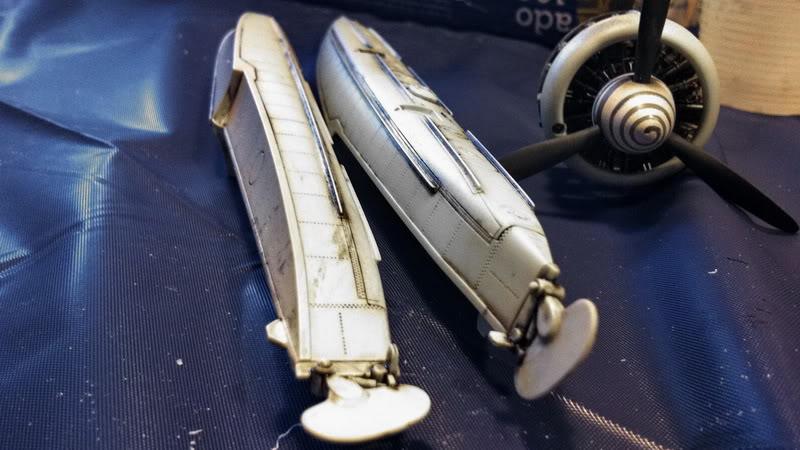 Project Arado Ar 196 A3 - Revell 1:32 + ship catapult HpH 1:32 IMG_3677