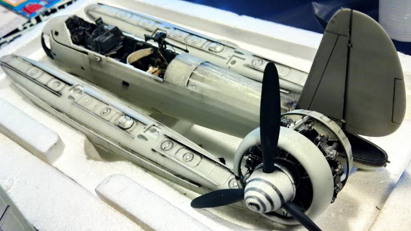 Project Arado Ar 196 A3 - Revell 1:32 + ship catapult HpH 1:32 IMG_3680