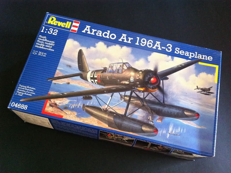 Project Arado Ar 196 A3 - Revell 1:32 + ship catapult HpH 1:32 Iphone_images301