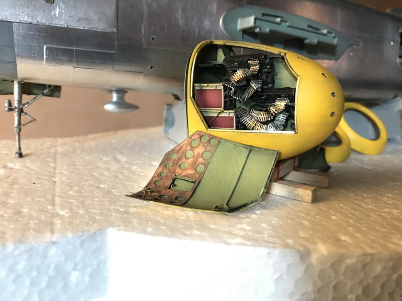"MWP Project: North American B-25J  Mitchell ""Lady Lil"" 1/32 scale Gallery_12"