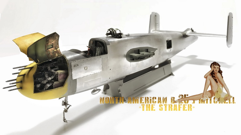 "MWP Project: North American B-25J  Mitchell ""Lady Lil"" 1/32 scale Gallery_18_2"