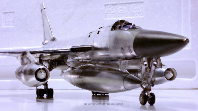 "Project B58 Hustler Monogram kit 1/48 scale model : Nuclear bomber of the ""Cold War"" 20150604_225231%20copy"