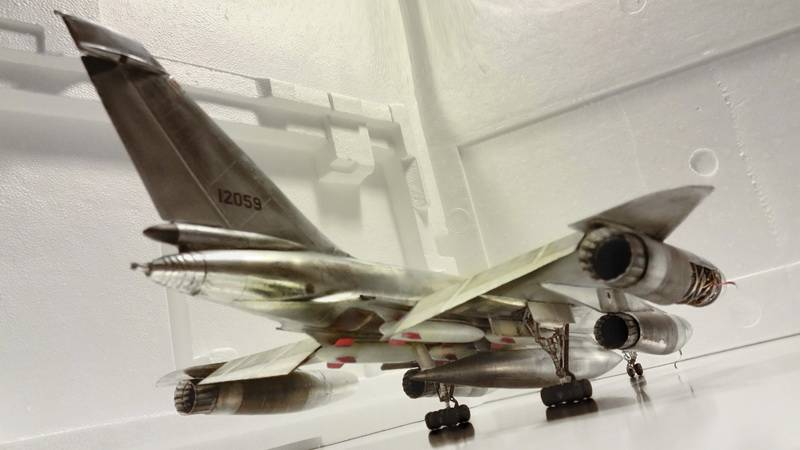 "Project B58 Hustler Monogram kit 1/48 scale model : Nuclear bomber of the ""Cold War"" 20150611_205309%20copy"