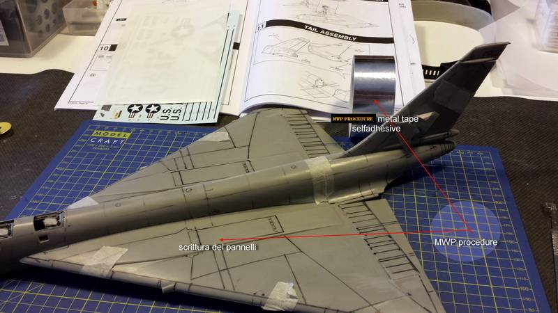 "Project B58 Hustler Monogram kit 1/48 scale model : Nuclear bomber of the ""Cold War"" Mwp_1"