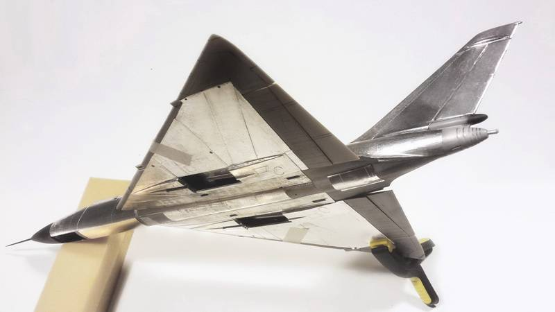 "Project B58 Hustler Monogram kit 1/48 scale model : Nuclear bomber of the ""Cold War"" Mwp__37"