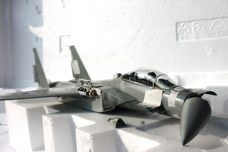 Boeing  F-15Ds  Israeli Air Force - G.W.H. kit 1/48 scale model IMG_2680%202