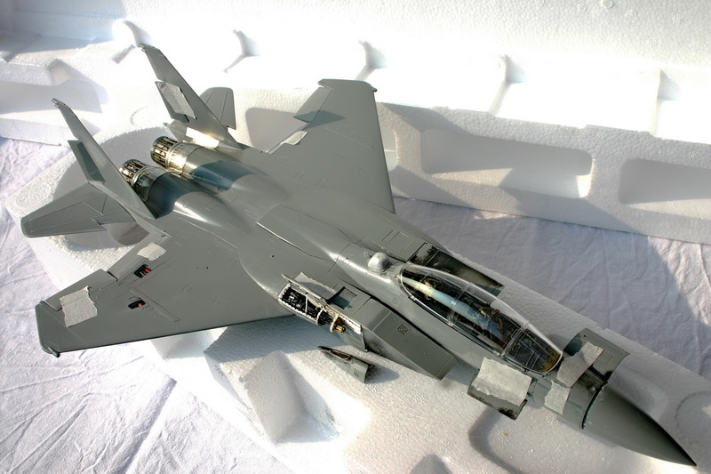 Boeing  F-15Ds  Israeli Air Force - G.W.H. kit 1/48 scale model IMG_2699%202