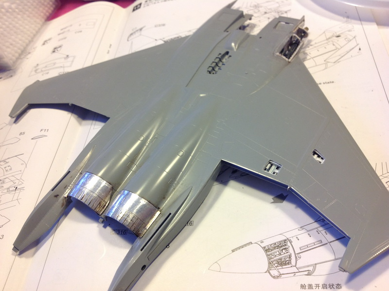 Boeing  F-15Ds  Israeli Air Force - G.W.H. kit 1/48 scale model IMG_2936%202