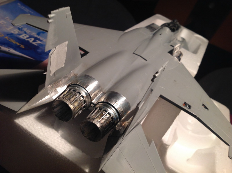 Boeing  F-15Ds  Israeli Air Force - G.W.H. kit 1/48 scale model IMG_2947%202