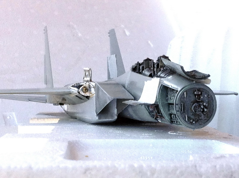 Boeing  F-15Ds  Israeli Air Force - G.W.H. kit 1/48 scale model IMG_2989%202