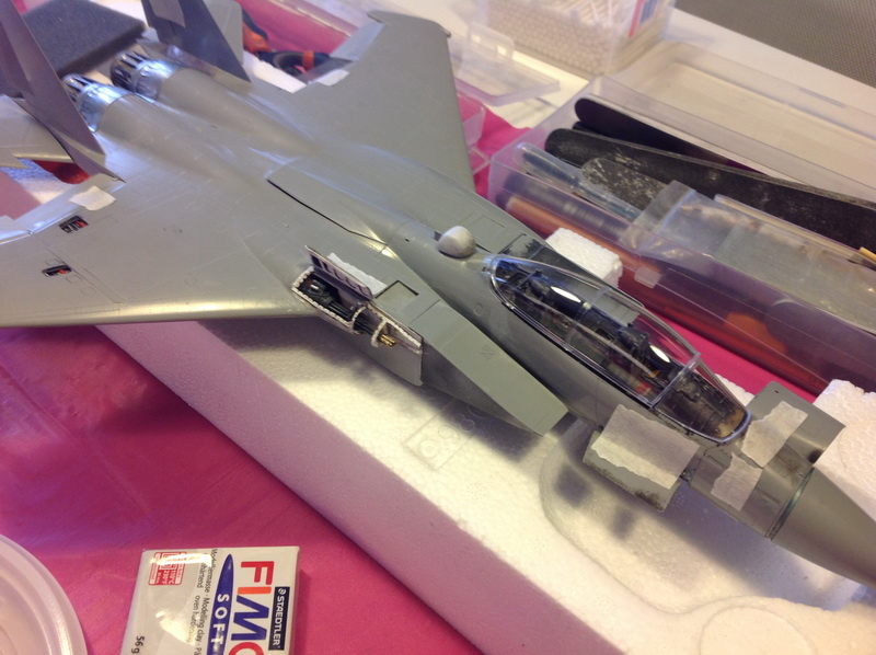 Boeing  F-15Ds  Israeli Air Force - G.W.H. kit 1/48 scale model IMG_3054%202
