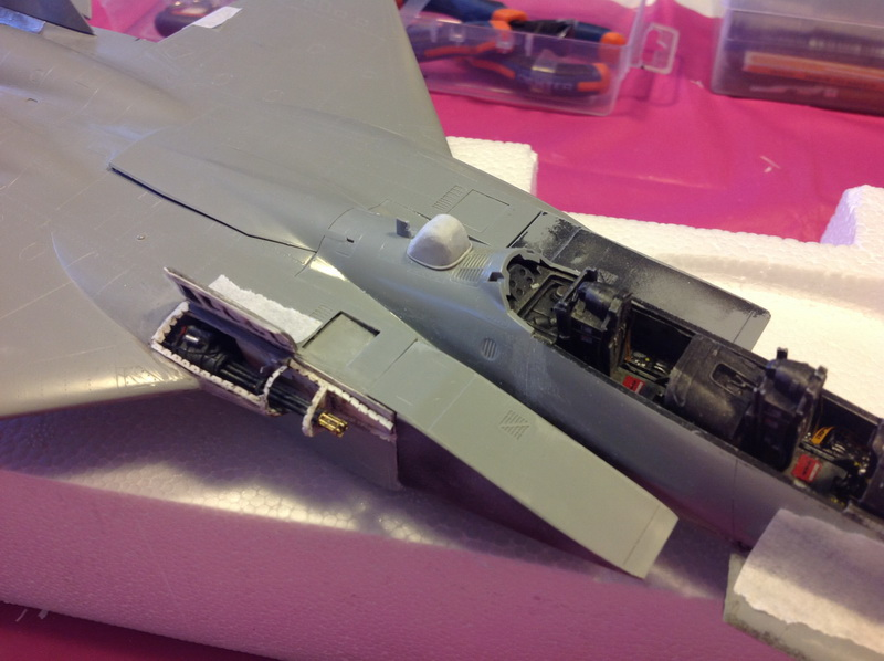 Boeing  F-15Ds  Israeli Air Force - G.W.H. kit 1/48 scale model IMG_3059%202