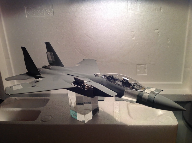 Boeing  F-15Ds  Israeli Air Force - G.W.H. kit 1/48 scale model IMG_3078%202