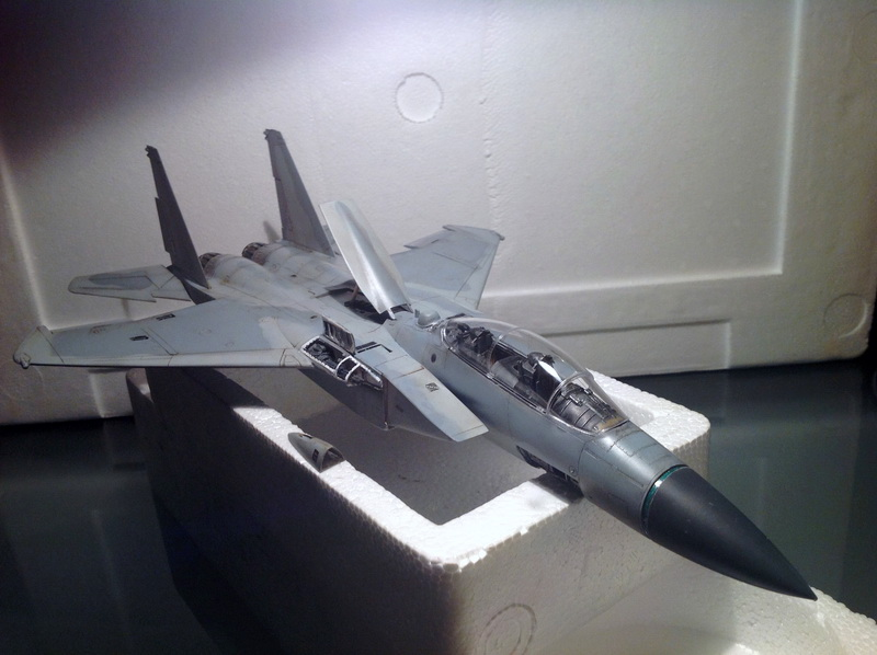Boeing  F-15Ds  Israeli Air Force - G.W.H. kit 1/48 scale model IMG_3395