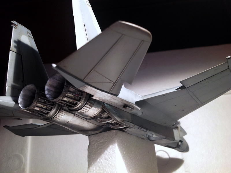 Boeing  F-15Ds  Israeli Air Force - G.W.H. kit 1/48 scale model IMG_3413