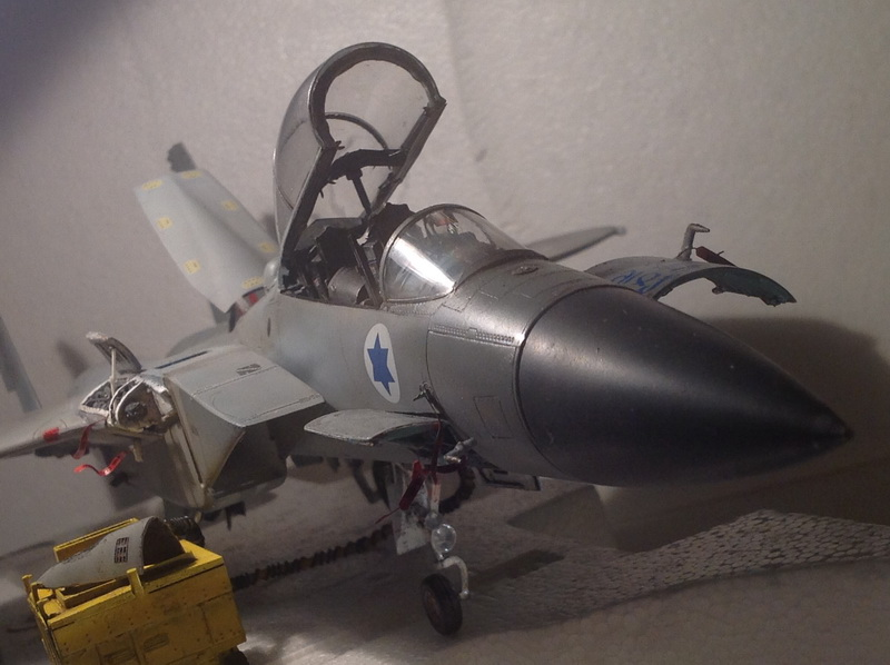 Boeing  F-15Ds  Israeli Air Force - G.W.H. kit 1/48 scale model IMG_3883