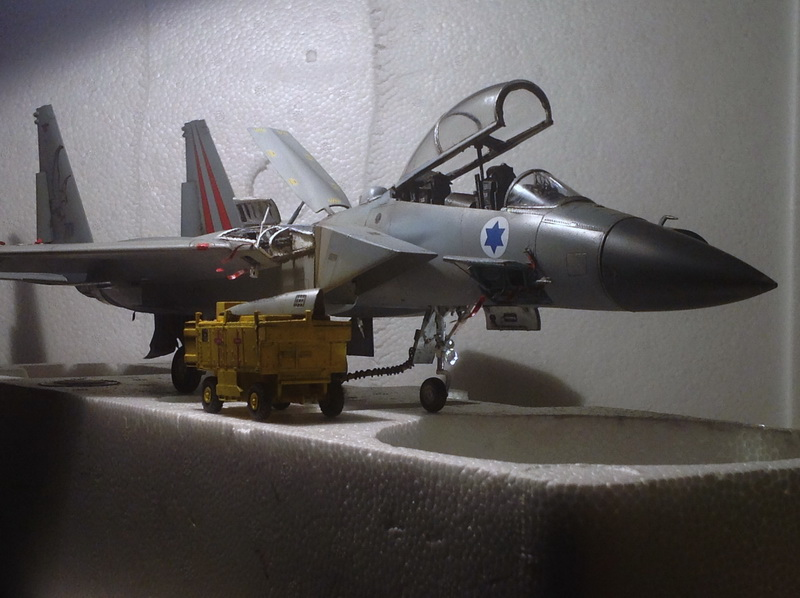 Boeing  F-15Ds  Israeli Air Force - G.W.H. kit 1/48 scale model IMG_3884