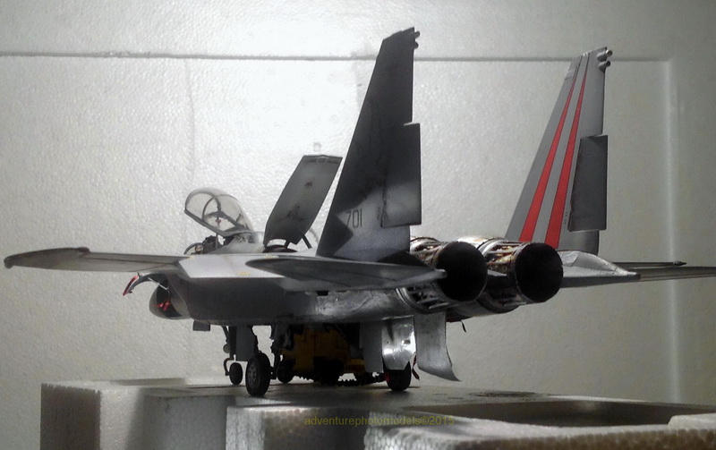 Boeing  F-15Ds  Israeli Air Force - G.W.H. kit 1/48 scale model IMG_3888