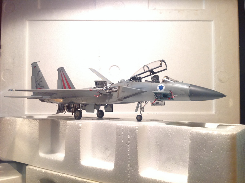 Boeing  F-15Ds  Israeli Air Force - G.W.H. kit 1/48 scale model IMG_3910