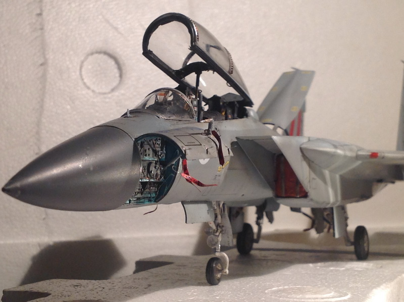 Boeing  F-15Ds  Israeli Air Force - G.W.H. kit 1/48 scale model IMG_3917