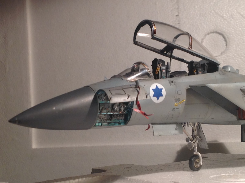 Boeing  F-15Ds  Israeli Air Force - G.W.H. kit 1/48 scale model IMG_3918
