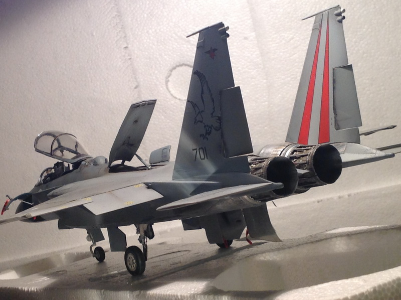 Boeing  F-15Ds  Israeli Air Force - G.W.H. kit 1/48 scale model IMG_3926
