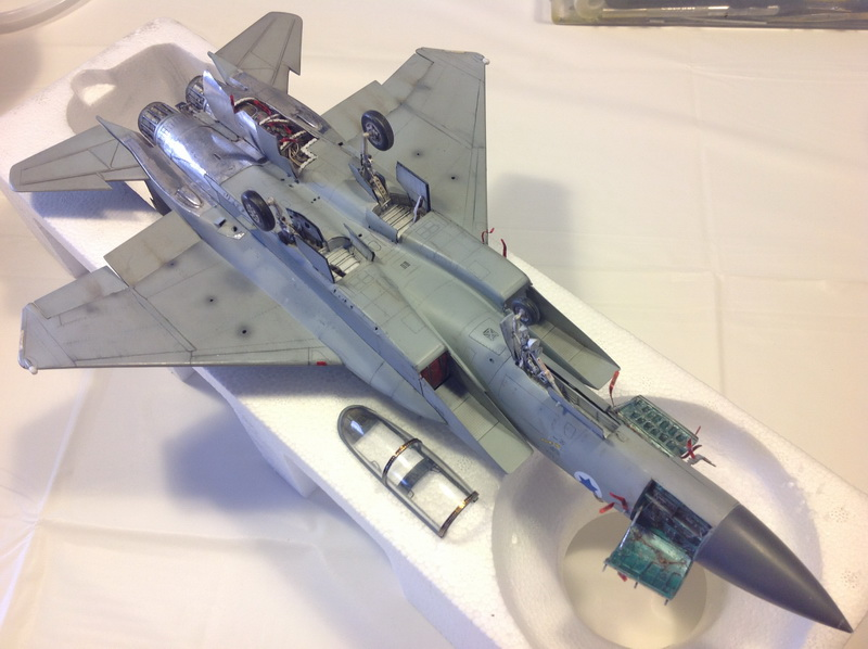 Boeing  F-15Ds  Israeli Air Force - G.W.H. kit 1/48 scale model IMG_3948