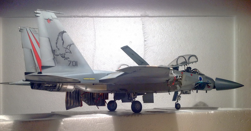 Boeing  F-15Ds  Israeli Air Force - G.W.H. kit 1/48 scale model IMG_4010_2