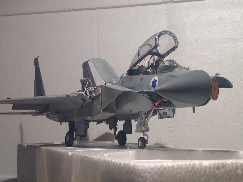 Boeing  F-15Ds  Israeli Air Force - G.W.H. kit 1/48 scale model IMG_4025