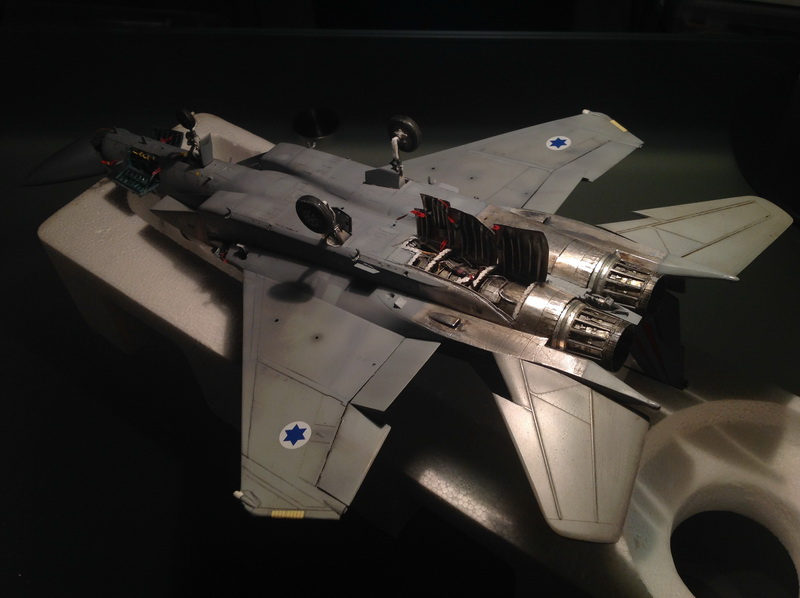 Boeing  F-15Ds  Israeli Air Force - G.W.H. kit 1/48 scale model IMG_4076
