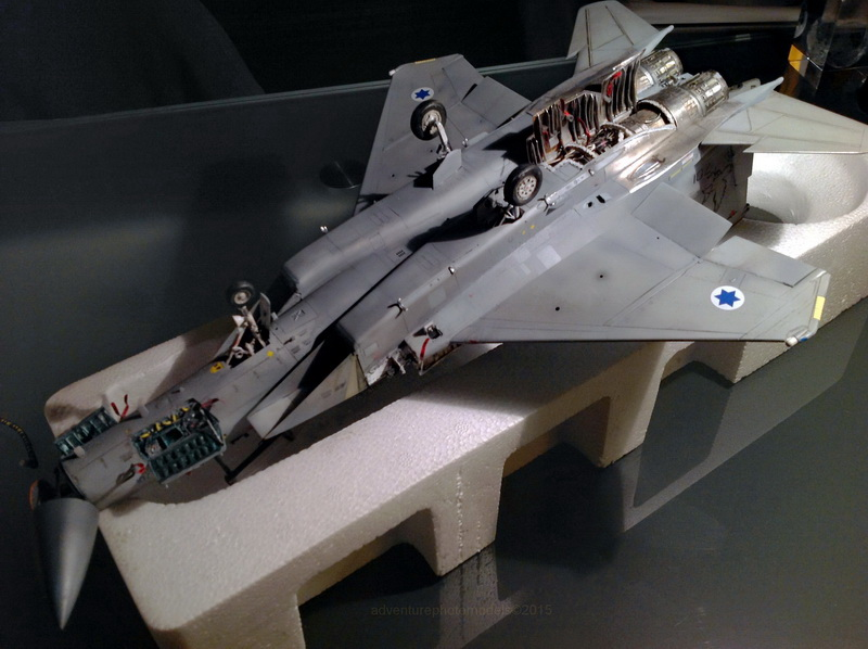 Boeing  F-15Ds  Israeli Air Force - G.W.H. kit 1/48 scale model IMG_4077R